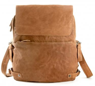 Harold's R.Johnson Notebook-Rucksack Camel