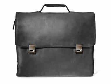 Harold's Leather Gentleman Aktentasche L Schwarz