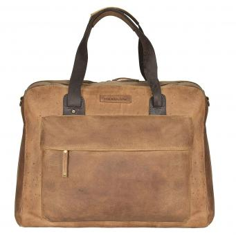 Harold's Antik Businessbag L natur