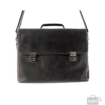 Harold's Leather Gentleman Aktentasche L Braun