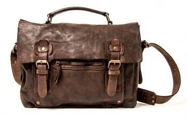 Harold's Submarine Aktentasche Briefbag braun