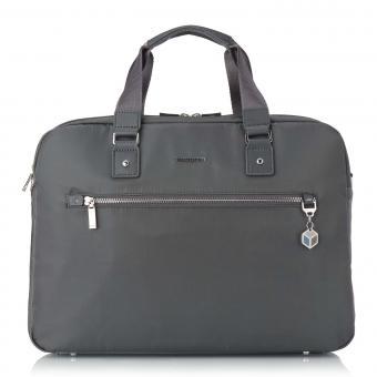 """Hedgren Charm Business Opalia Business-Tasche mit zwei Fächern 15,6 """" Iron Gate"""