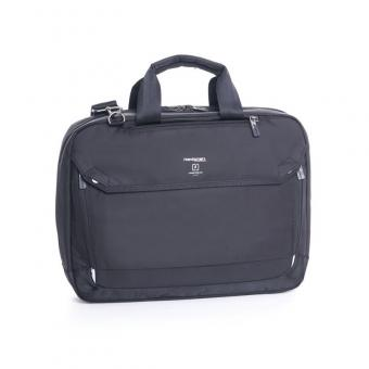 "Hedgren connect Link Hitch Slim 3-Way Briefcase 15"" Black"