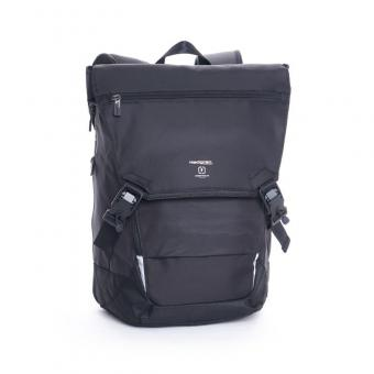 "Hedgren connect Link Joint Backpack with Flap 15.6"" Black"