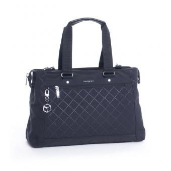 "Hedgren Diamond Star Malachite Handbag 13"""