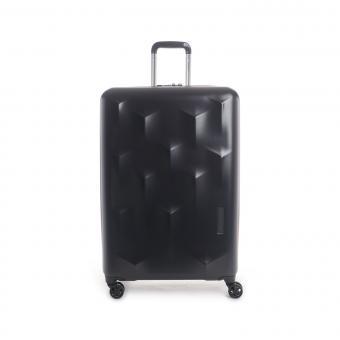Hedgren Edge Carve L Expandable 4-Rollen-Trolley 76cm Black