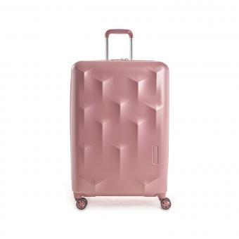Hedgren Edge Carve L Expandable 4-Rollen-Trolley 76cm Blush