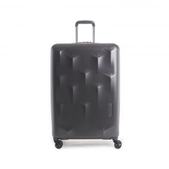 Hedgren Edge Carve L Expandable 4-Rollen-Trolley 76cm Charcoal