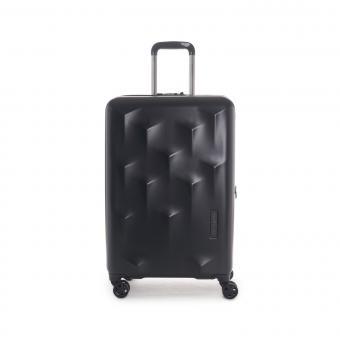 Hedgren Edge Carve M Expandable 4-Rollen-Trolley 67cm Black