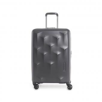 Hedgren Edge Carve M Expandable 4-Rollen-Trolley 67cm Charcoal
