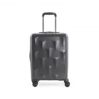 Hedgren Edge Carve XS Cabin Trolley, 4 Rollen, 55cm Charcoal