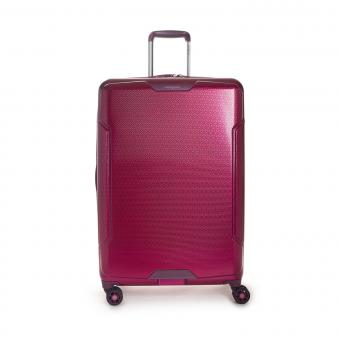 Hedgren Freestyle Glide L Expandable 4-Rollen-Trolley 76cm Beet Red