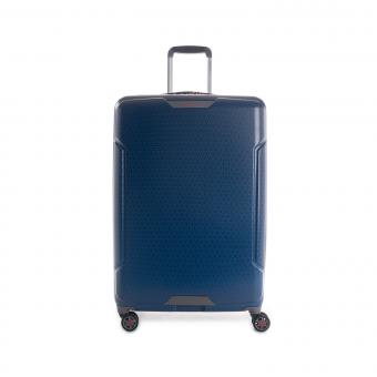 Hedgren Freestyle Glide L Expandable 4-Rollen-Trolley 76cm Blue Opal