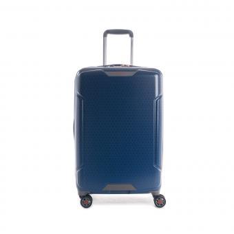 Hedgren Freestyle Glide M Expandable 4-Rollen-Trolley 67cm Blue Opal