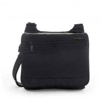 Hedgren Inner City SPUTNIK Crossover + Sicherheitshaken + RFID Black