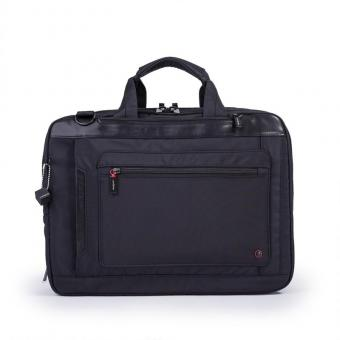 "Hedgren Zeppelin Revised EXPLICIT Laptoptasche 15"" erweiterbar black"