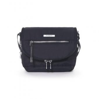 Hedgren Aura SHIMMER Crossover with flap Schultertasche Black