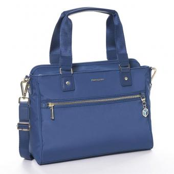 "Hedgren Charm Appeal Handbag 13"" Nautical Blue"