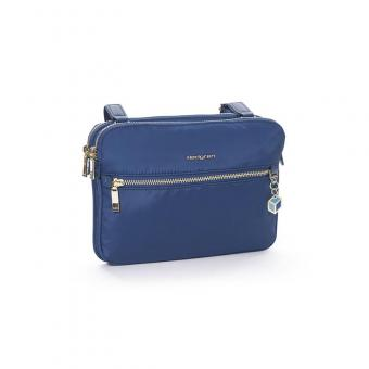 Hedgren Charm Attraction 2-Compartment Crossover Schultertasche Nautical Blue
