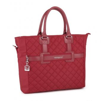 "Hedgren Diamond Touch ADELA S Tote mit Laptopfach 13,5"" New Bull Red"