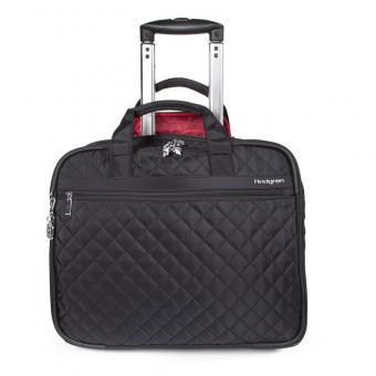 """Hedgren Diamond Touch CINDY Business Trolley 2R mit Laptopfach 15,6""""  Black"""