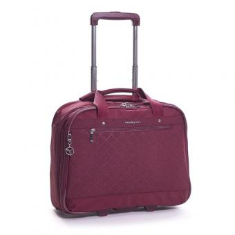 "Hedgren Diamond Star Onyx Mobile office 15.6"" Windsor Wine"