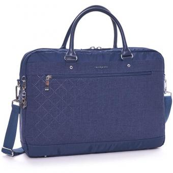 "Hedgren Diamond Star Opal L Business bag 15.6"" Dress Blue"