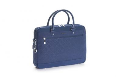 "Hedgren Diamond Star Opal Attache Laptoptasche 13"" Dress Blue"