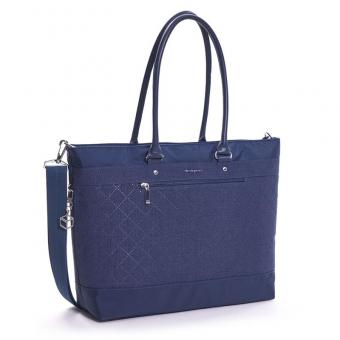 """Hedgren Diamond Star Zircon L Tote Laptoptasche 15.6"""" Dress Blue"""