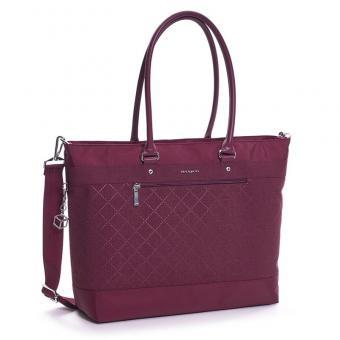 "Hedgren Diamond Star Zircon L Tote Laptoptasche 15.6"" Windsor Wine"