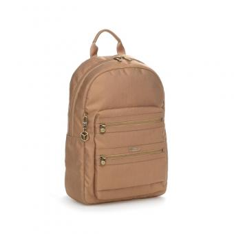 Hedgren Inner City Avenue GALIA Backpack 2 Zippers champagne