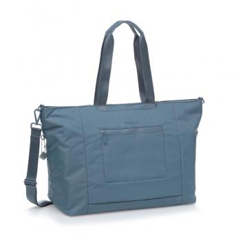 "Hedgren Inter-City SWING XL XL Tote mit Laptopfach 15"" Dolphin Blue"