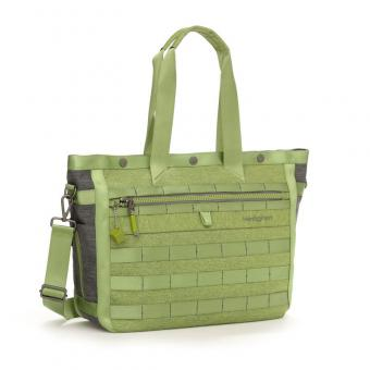 "Hedgren Knock Out GABRIEL Tote mit Laptopfach 15"" Guacamole"