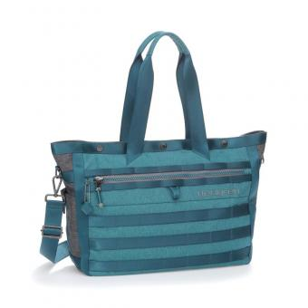 "Hedgren Knock Out GABRIEL Tote mit Laptopfach 15"" Mallard Turquoise"