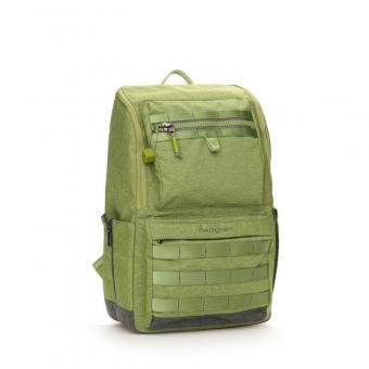 "Hedgren Knock Out TENIN Backpack Medium mit Laptopfach 15.6"" Guacamole"