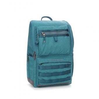 "Hedgren Knock Out TENNIN Backpack Medium mit Laptopfach 15.6"" Mallard Turquoise"