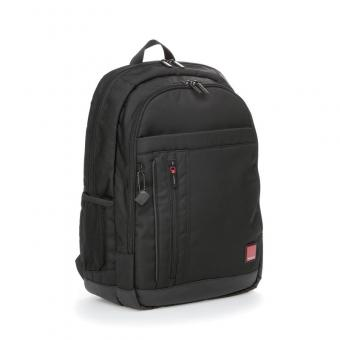 """Hedgren Red Tag FLAPS Business Backpack mit Laptopfach 15,6"""" Black"""