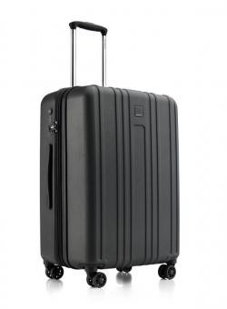 Hedgren Transit Gate M Ex 4-Rollen Trolley 67cm erweiterbar Black