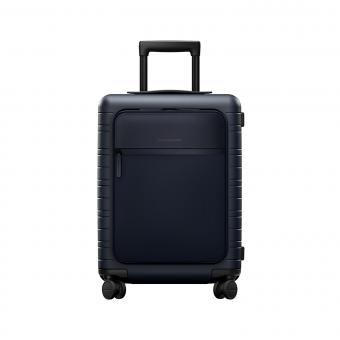 Horizn Studios Smart M5 Cabin Trolley mit Fronttasche Night Blue