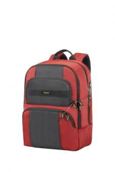 "Samsonite Infinipak Security Laptop Rucksack 15.6"" Red/Black"