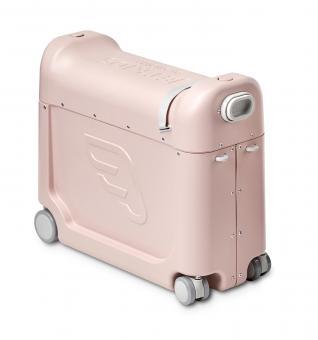 JetKids by Stokke BedBox Aufsitzkoffer und Flugzeugbett Pink Lemonade