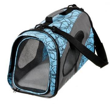 Karlie Flamingo Smart Carry Bag Faltbare Transporttasche L für Katzen und kleine Hunde Blau