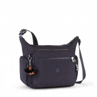 Kipling Gabbie Mittelgroße Schultertasche Blue Purple C