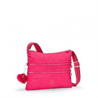Kipling Alvar Basic Schultertasche Cherry Pink C