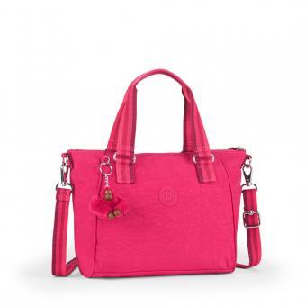 Kipling Amiel Handtasche Cherry Pink C