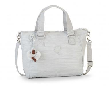 Kipling Amiel Handtasche Dazz Grey