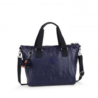 Kipling Amiel Handtasche Lacquer Indigo