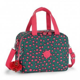 Kipling Miyo Lunchbag mit Trolleylasche Dot Play Print