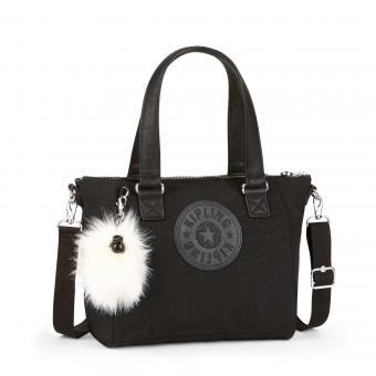Kipling Amiel Handtasche Black Padded