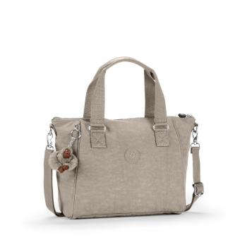 Kipling Amiel Handtasche Warm Grey